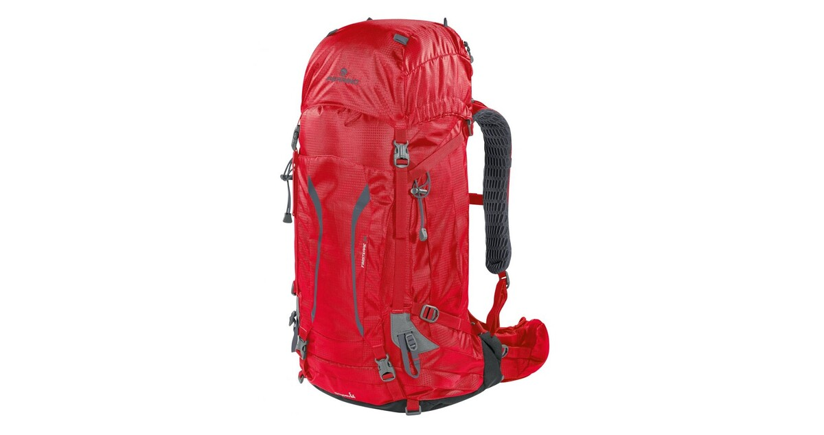 3a62d52d7818 Tourist Backpack FERRINO Finisterre 38 - Red - inSPORTline