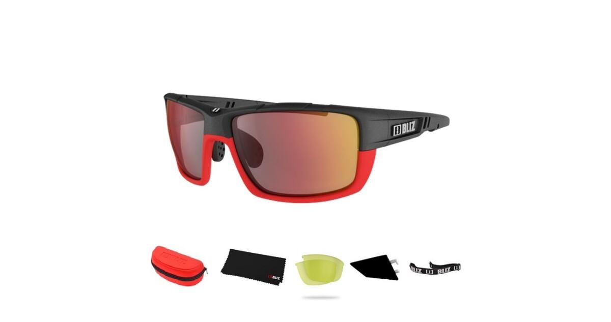 52f941298c Sports Sunglasses Bliz Tracker Ozone Red - inSPORTline