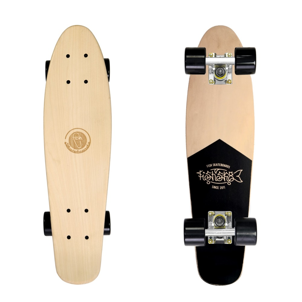 0e818848d Penny Board Fish Classic Wood - Red Fox. Penny ...