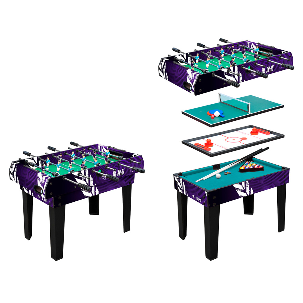 Multi Game Table WORKER 4 In 1