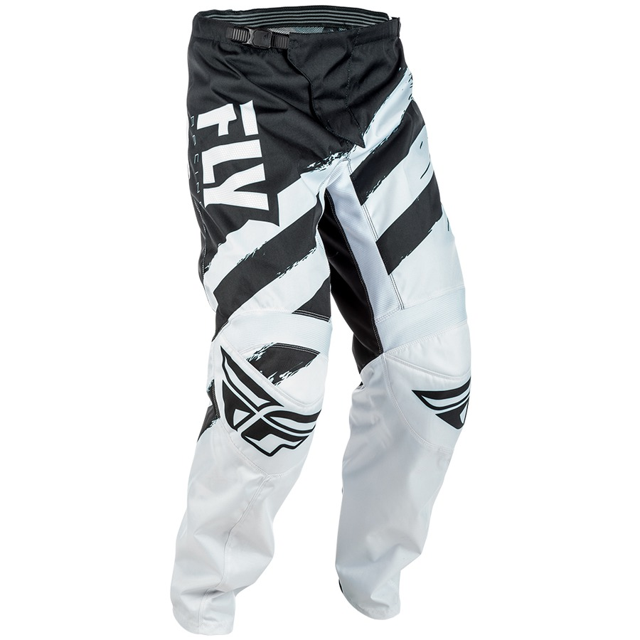 Fly Racing MX Motocross F-16 Pants Black//White//Grey Choose Size