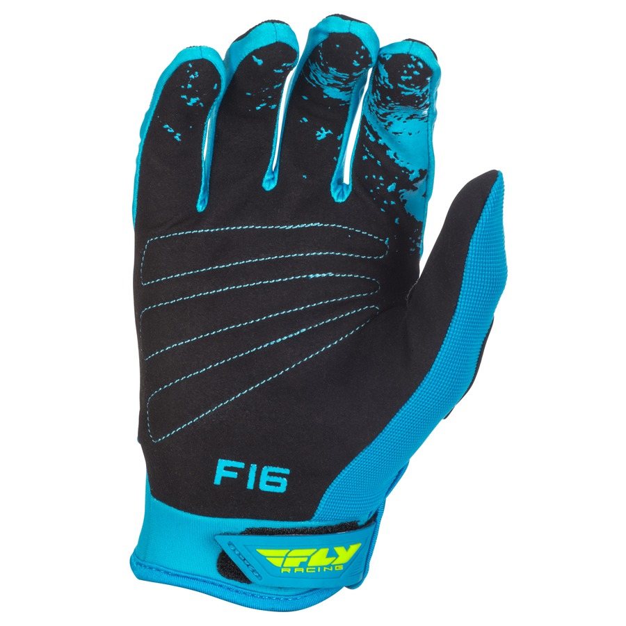 Motocross Gloves Fly Racing F-16 2018 - Black hi-viz. Extremely comfortable  ... 44948ea84