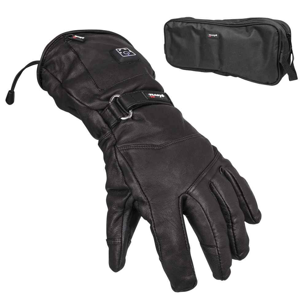 Sport Gloves Vice Opskins: Heated Leather Ski And Moto Gloves Glovii GS5
