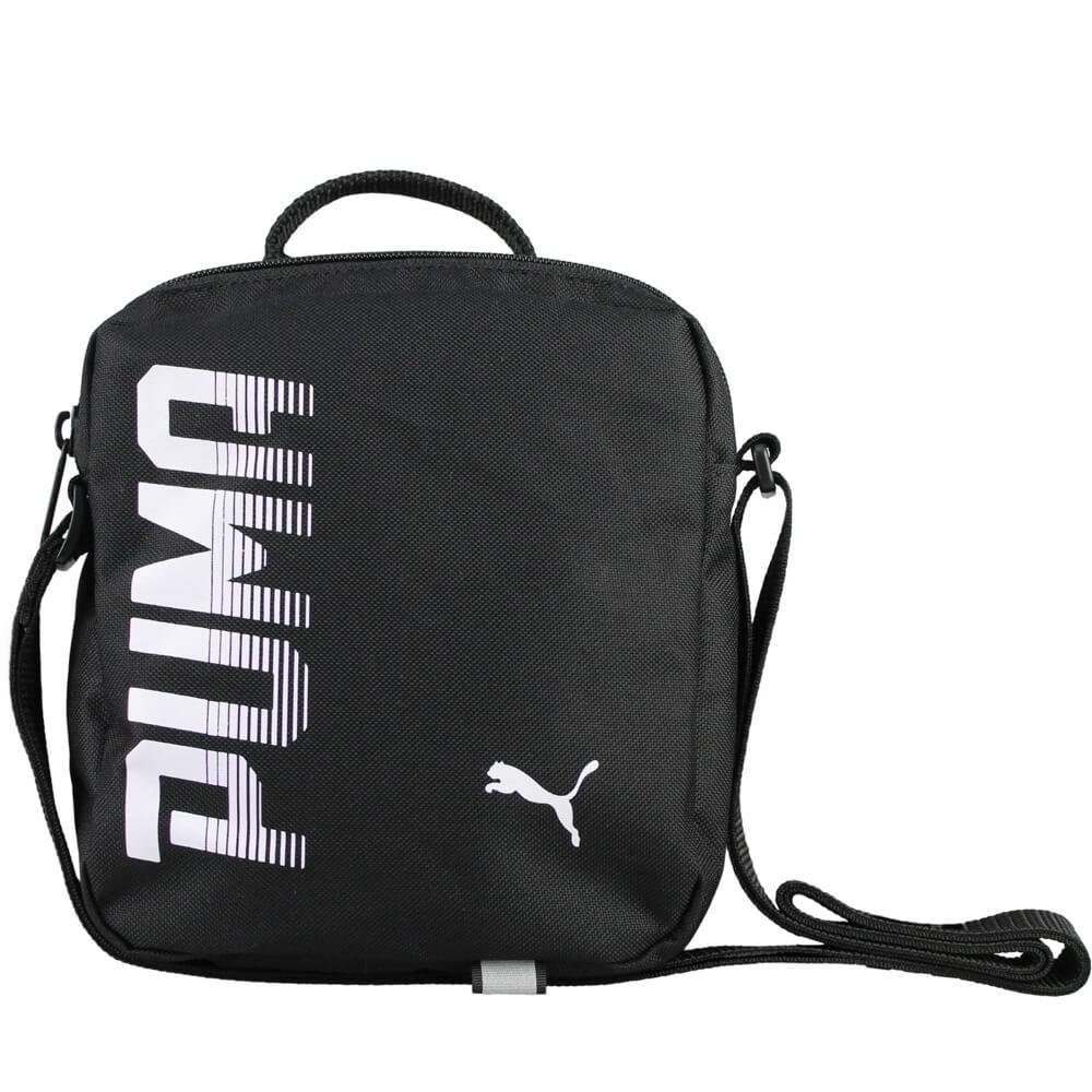 c4f90eaf3cab Shoulder Bag Puma Pioneer Portable 07471701 Black - inSPORTline