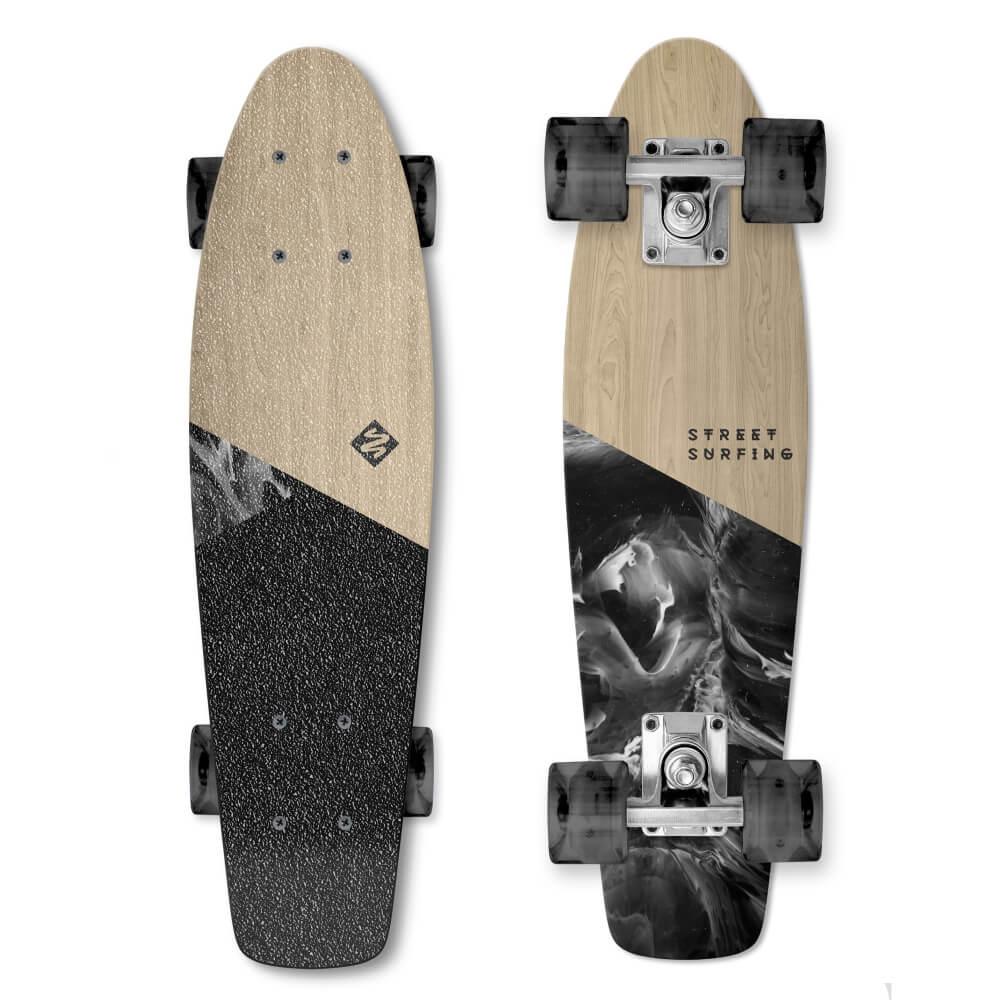 Penny Board Street Surfing Beach Board Wood Dimension 225