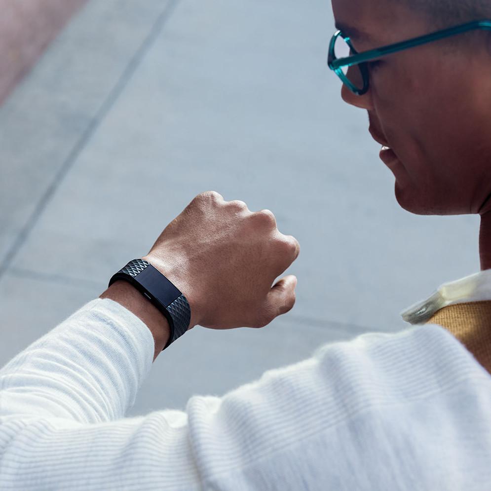 Fitness Tracker Fitbit Charge 2 Black Gunmetal - inSPORTline