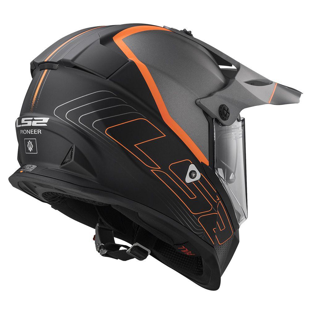 new product super specials retail prices Moto Helmet LS2 MX436 Pioneer Graphic - inSPORTline