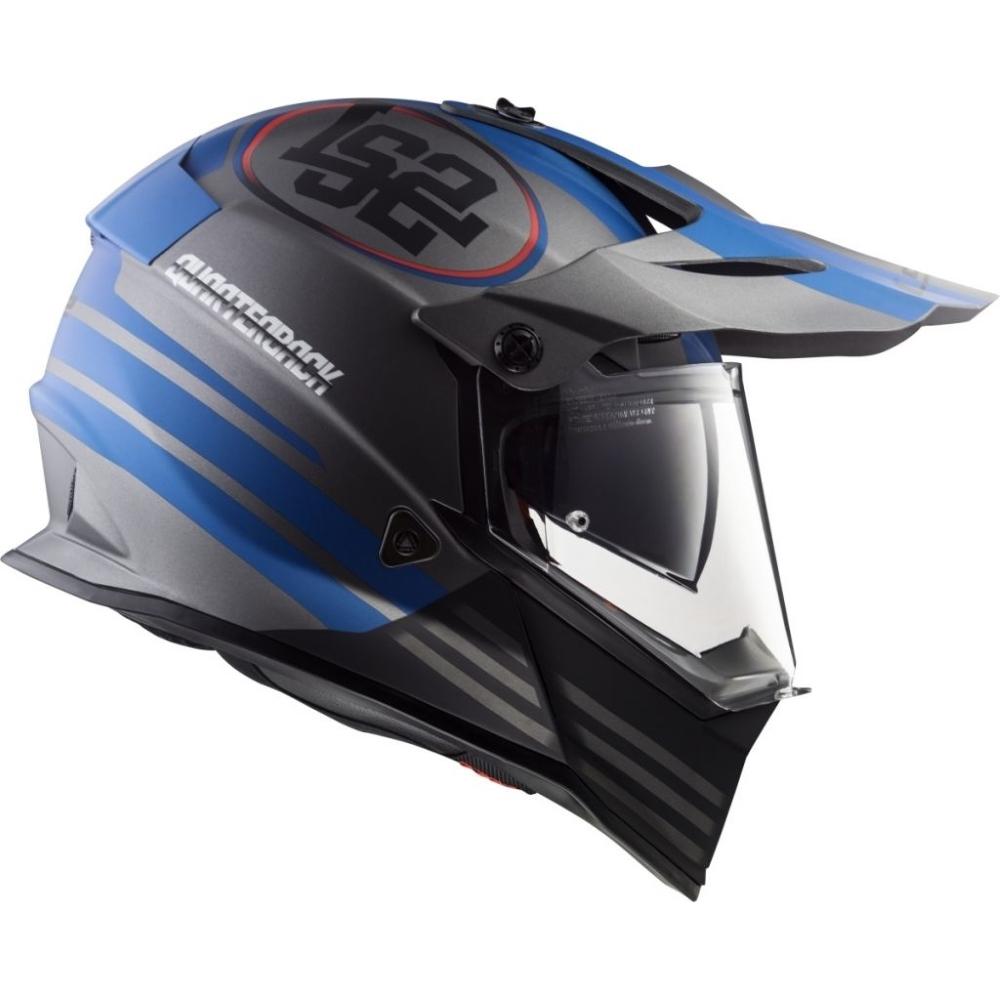 b12b73d2028 Moto Helmet LS2 MX436 Pioneer Graphic - Trigger. Certified ...