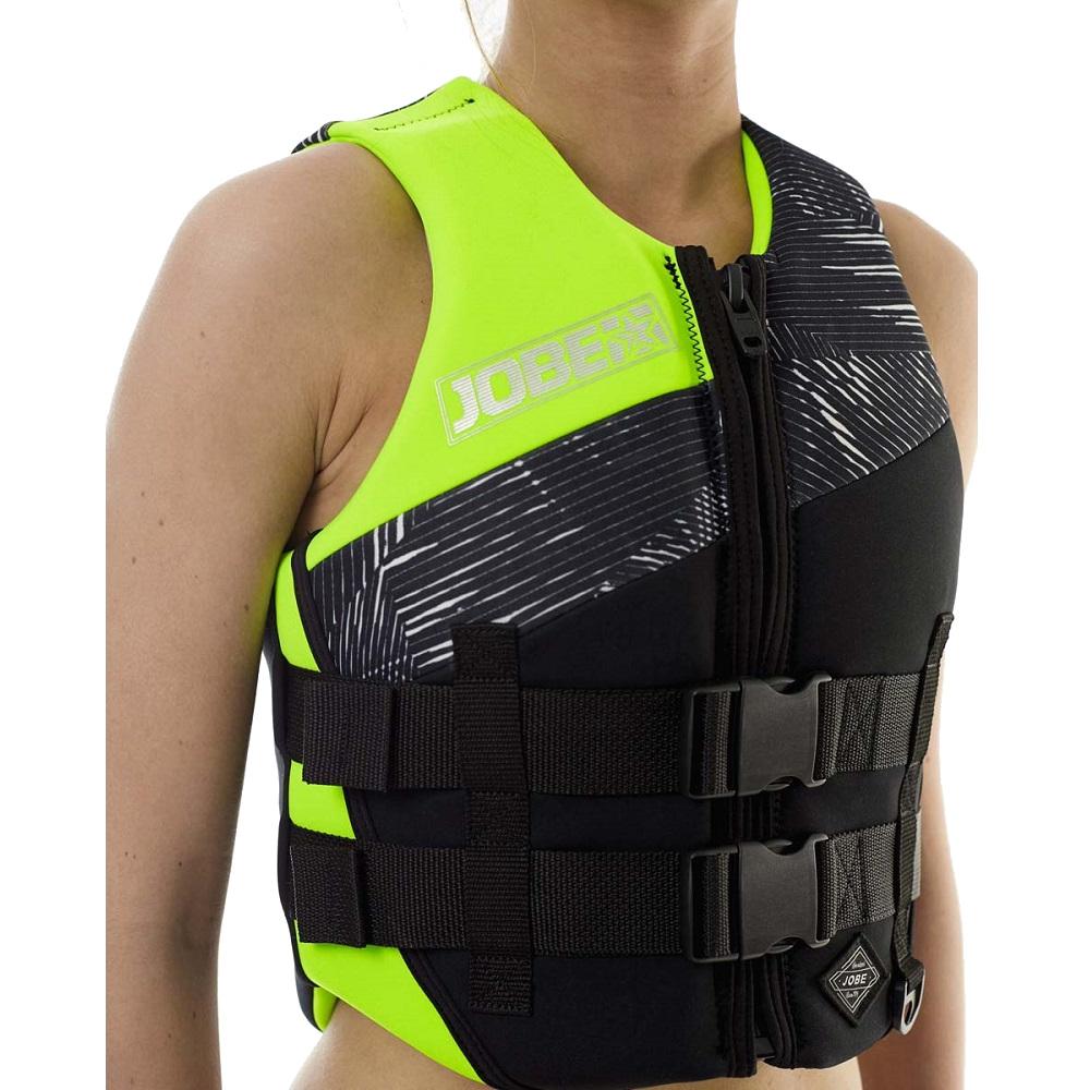 Women S Life Vest Jobe Lime Green Insportline
