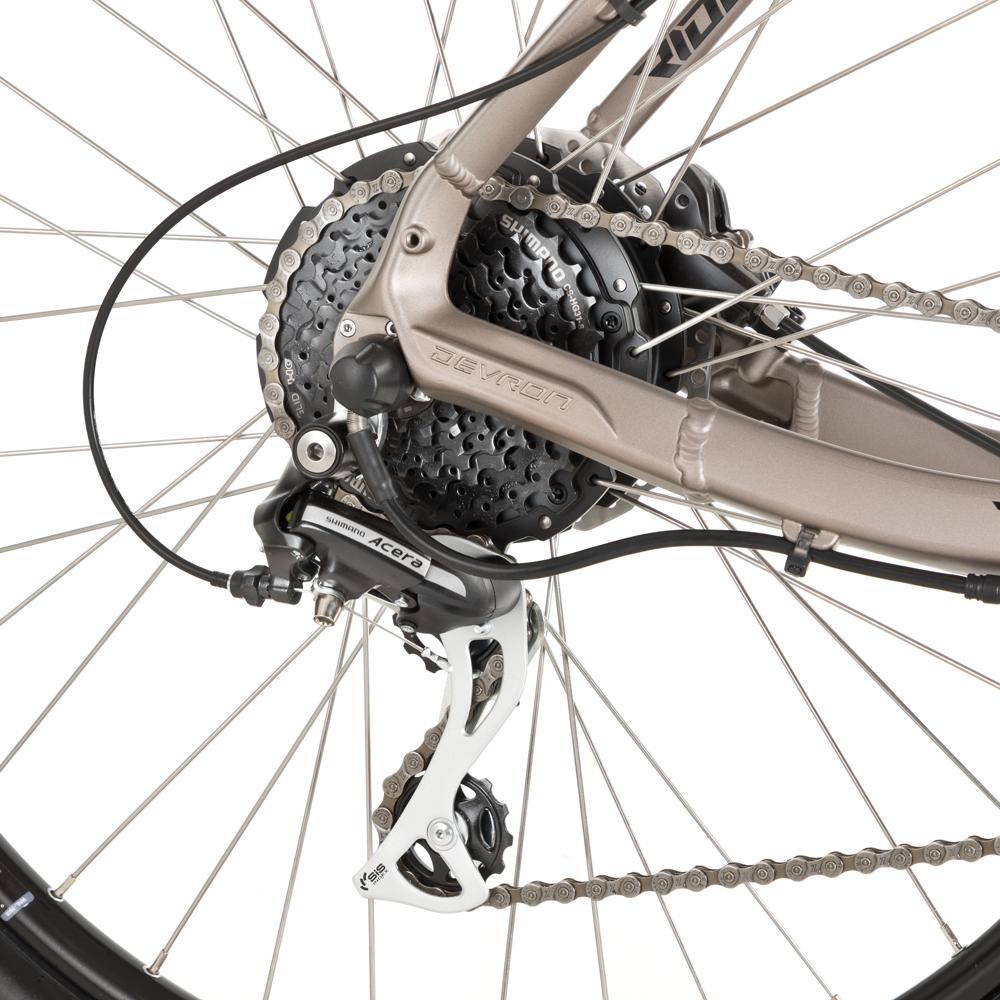 """d1d46f9013d Mountain E-Bike Devron Riddle M1.7 27.5"""" – 2018 - Neon - inSPORTline"""