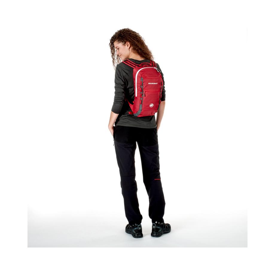 524dfaf4bc4c3 Mountaineering Backpack MAMMUT Neon Light 12 - Black Smoke. Lightweight ...