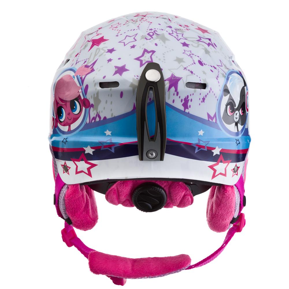 cad384d3a59d Kids Helmet Vision One Littlest Petshop - White Graphics. Durable ...