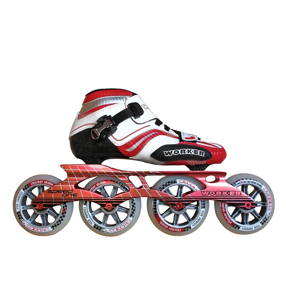 Roller skates one line - Worker Speed One In Line Skates