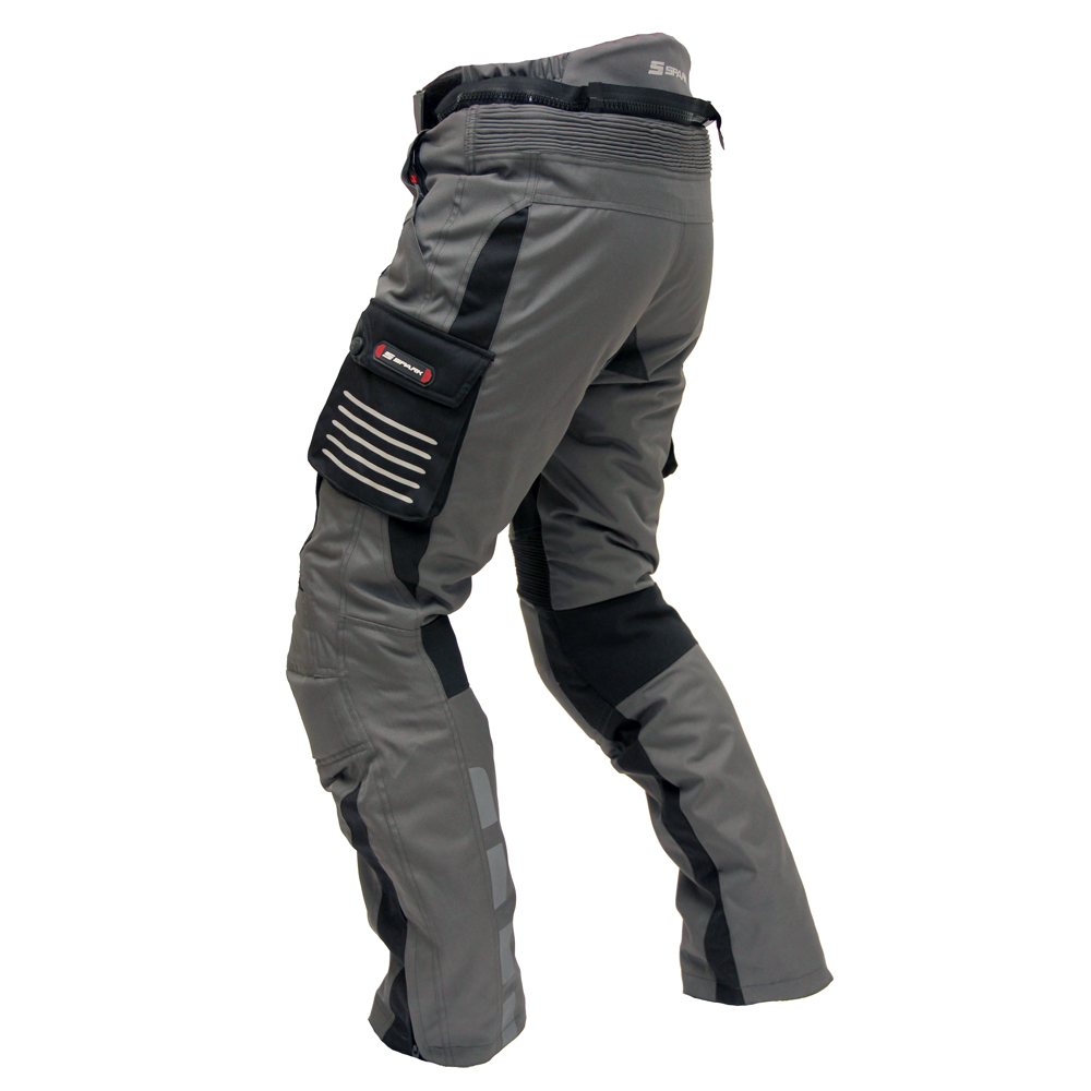 moto pants mens. men\u0027s motorcycle trousers spark gt turismo - dark. detachable moto pants mens