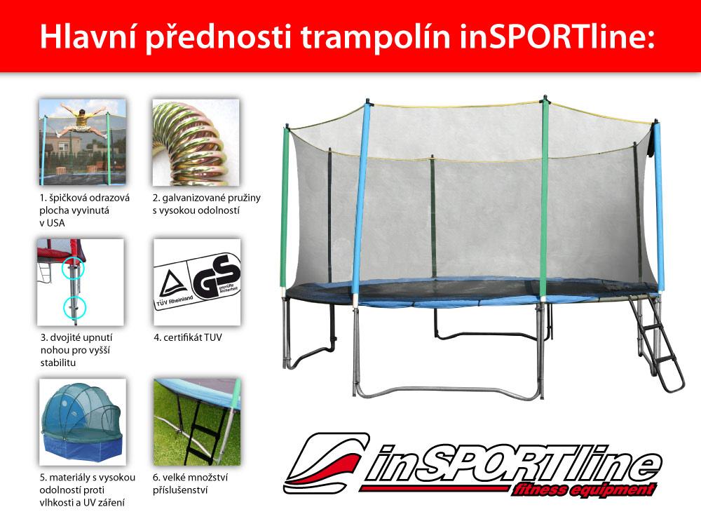 insportline top jump 366 cm trampoline set insportline. Black Bedroom Furniture Sets. Home Design Ideas