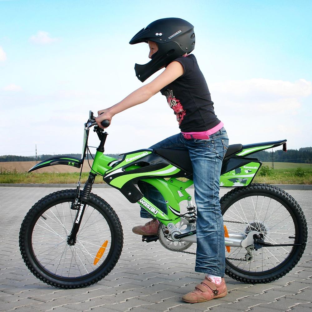 Kids Bike Kawaski Triumph 16 Quot 2012 Insportline Eu
