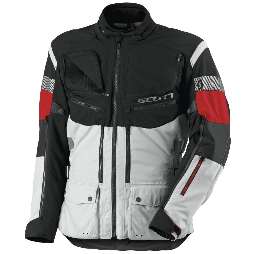 Moto Jacket Scott All Terrain Pro DP - Black-Grey - inSPORTline 48a0aa592af