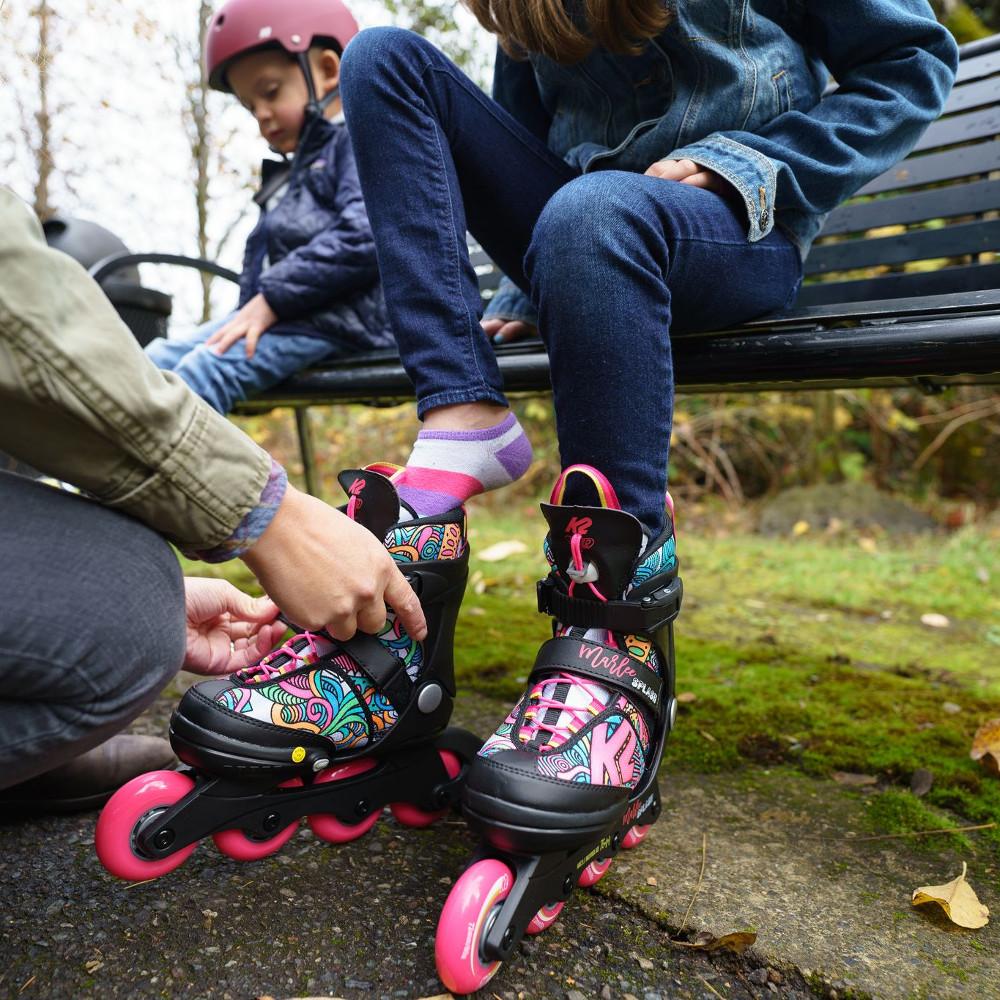 K2 Marlee Splash Adjustable Girls Inline Skates