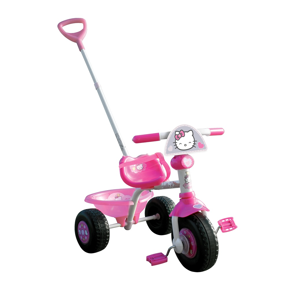 Bikes For Toddlers With Push Bars Hello Kitty Children s