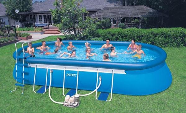 oval pool 366 x 610 cm insportline. Black Bedroom Furniture Sets. Home Design Ideas
