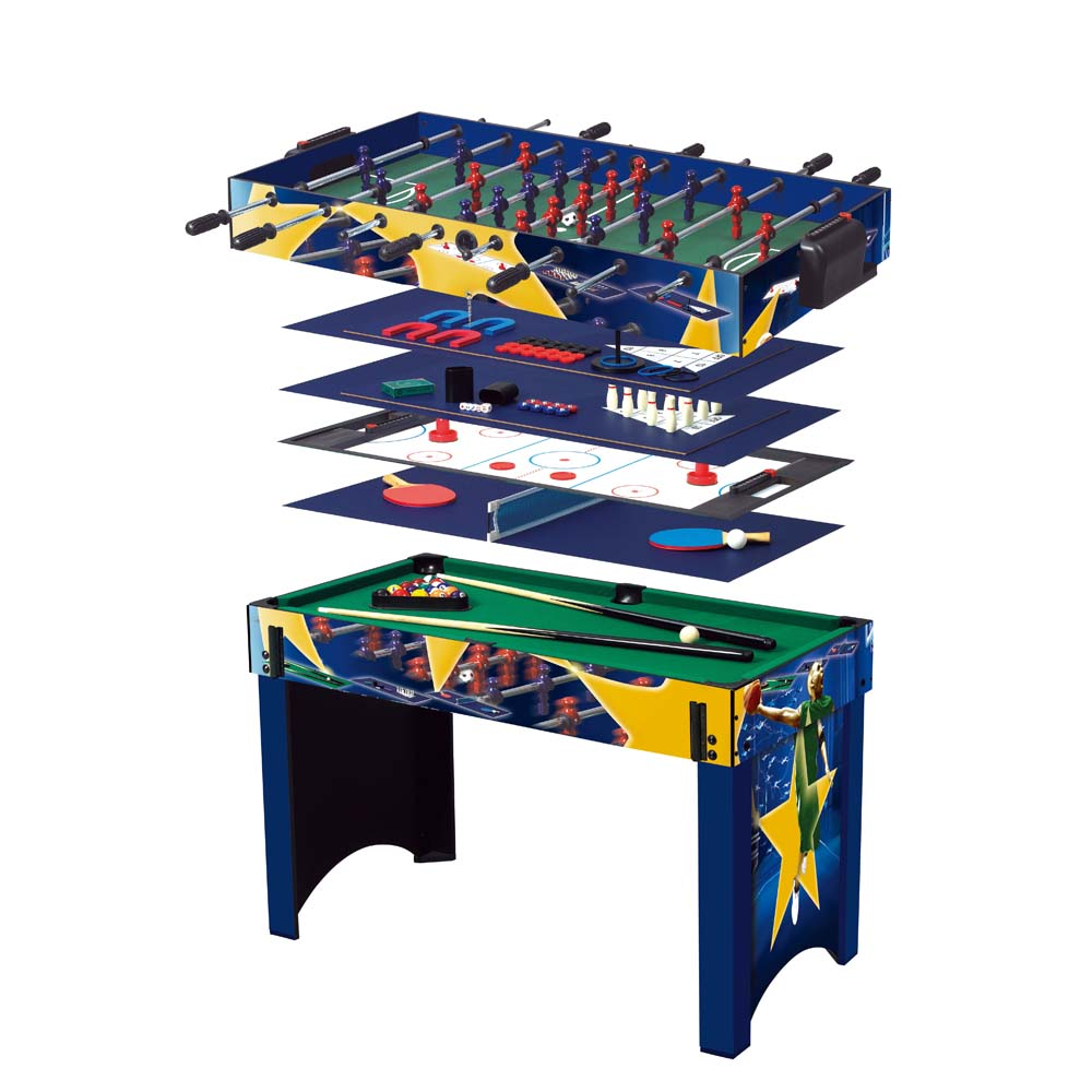 Worker supertable 13 in 1 game table insportline for 10 in 1 table game