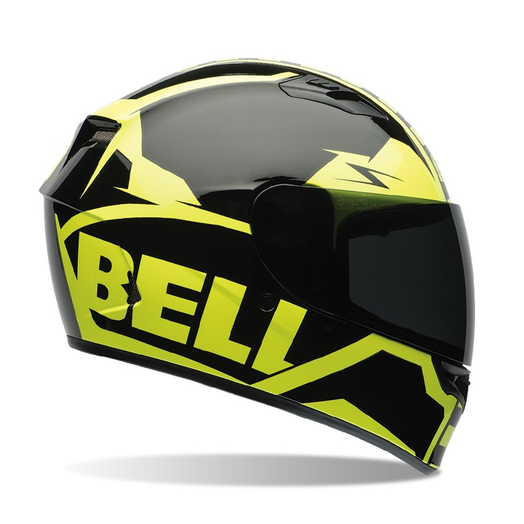 0cd2da0fc5a Motorcycle Helmet BELL Qualifier Cam - Hi-Vis Rally. Composite shell ...