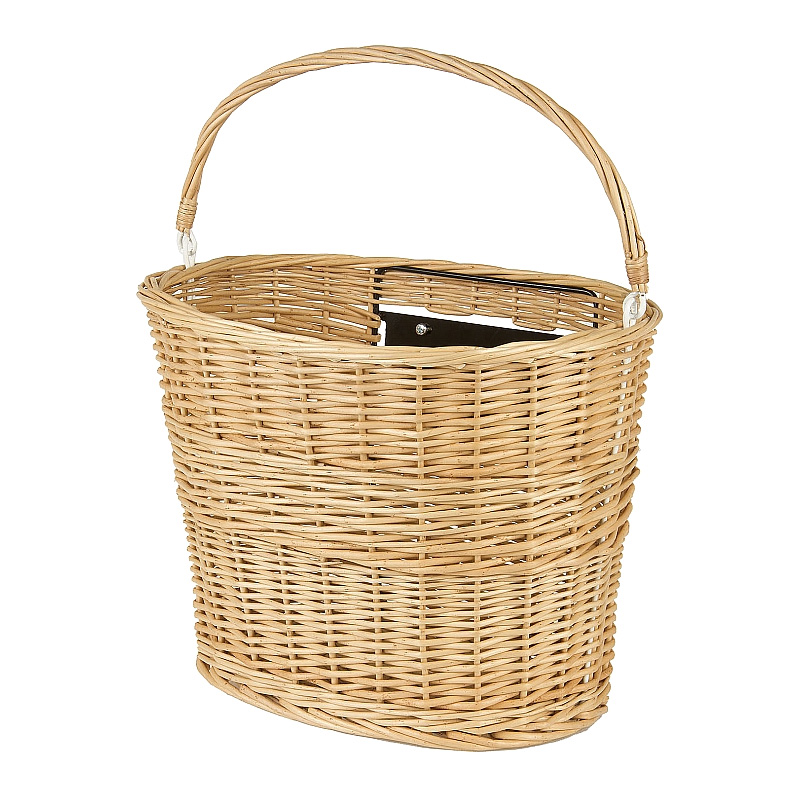 Wicker Bike Basket