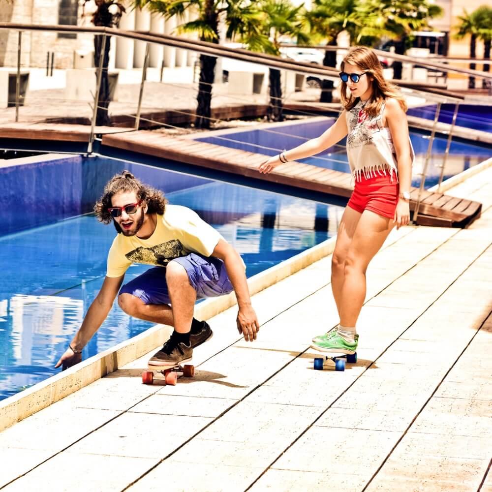 Pennyboard Street Surfing Beach Board Insportline