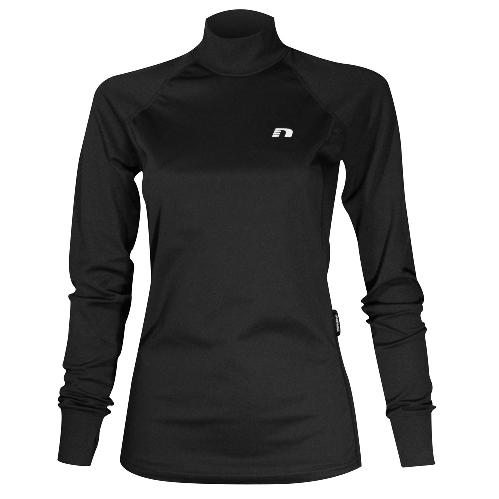 Black t shirt with white collar - Women S Sport T Shirt Newline The Collar