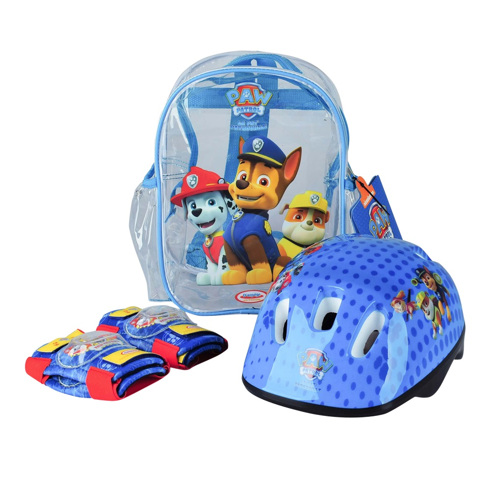S pads set of 2 Blue Paw Patrol Boys 318 Helmet