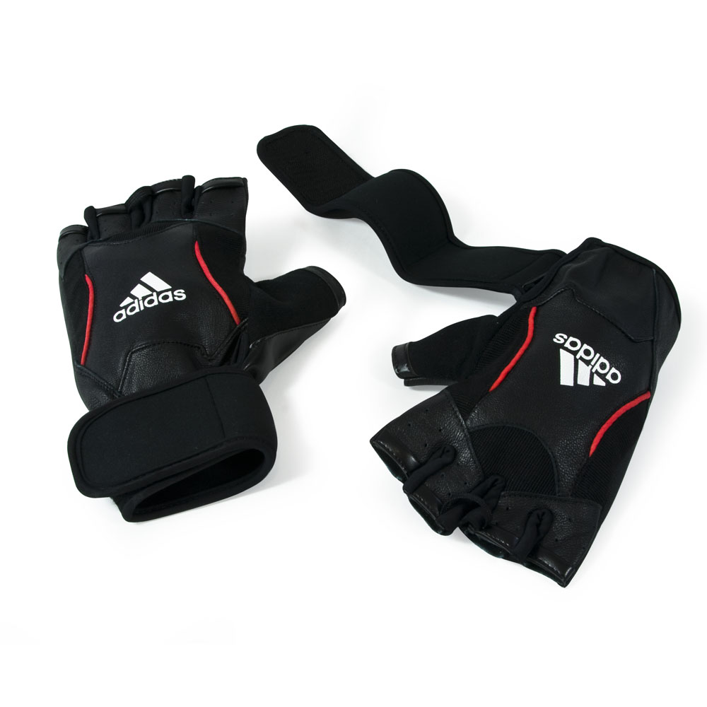 Adidas Logo Gloves Training Gloves Adidas