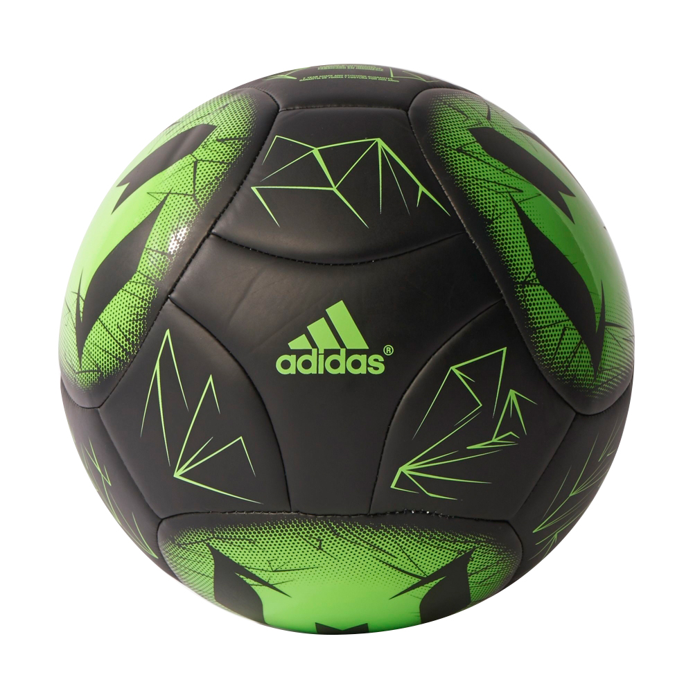 Soccer: Soccer Ball Adidas Messi Q4 AP0407 Black-Green