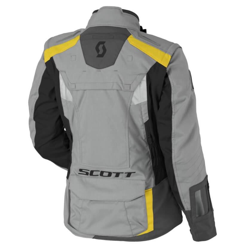 Women s Moto Jacket SCOTT W s Dualraid DP MXVII - Grey-Yellow ... 0b2604dea8c