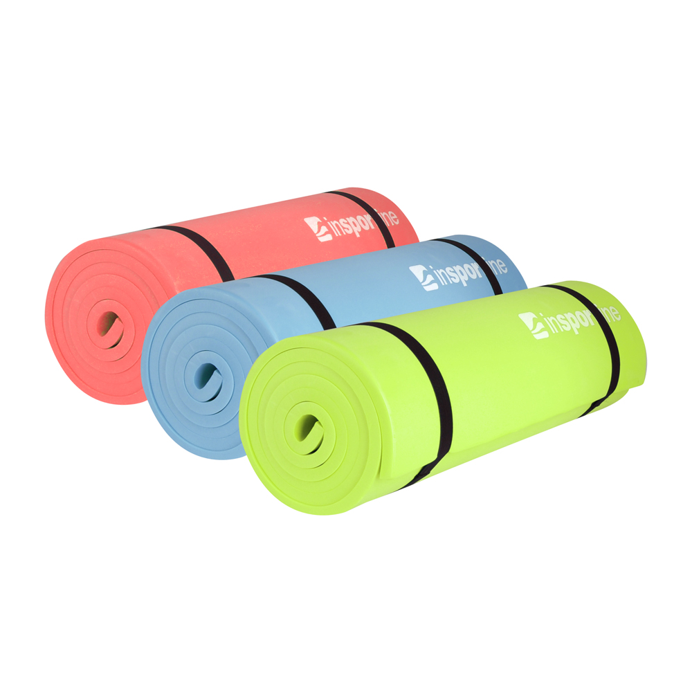 aerobic gym mat insportline eva 180 x 50 x 1 cm