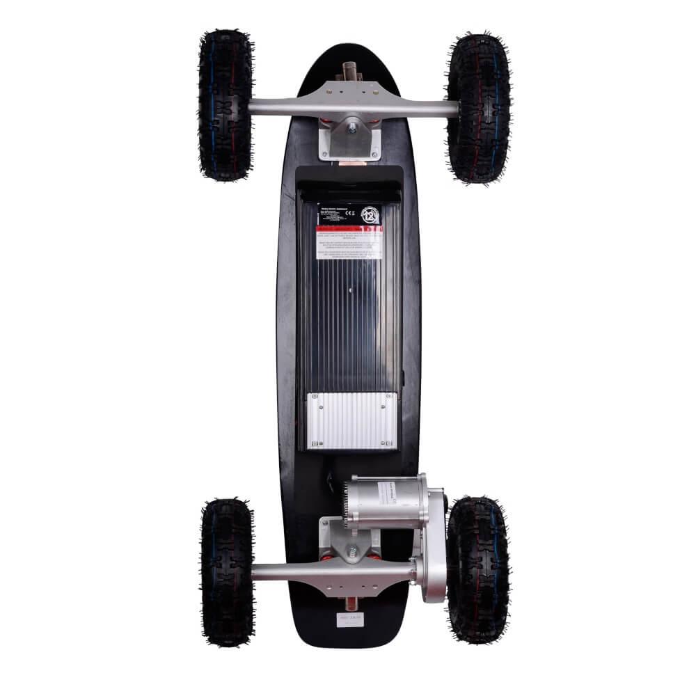 electric longboard skatey 800 off road black insportline. Black Bedroom Furniture Sets. Home Design Ideas