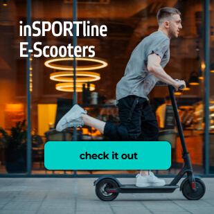 inSPORTline E-Scooters: great range, foldable frames and cool features