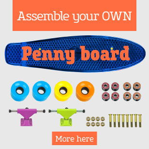 Assemble Your Own Custom Penny Board!