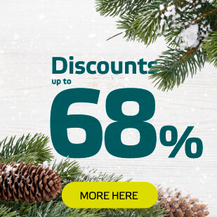 The Great Post-Christmas Sale has Arrived! Up to 68% Off!