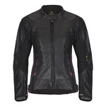 Women's Leather Motorcycle Jacket W-TEC NF-1174