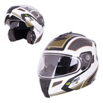 Flip-Up Motorcycle Helmet W-TEC NK-839