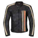 Men's Leather Moto Jacket W-TEC NF-1114