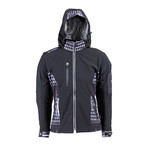 Women's Softshell Moto Jacket W-TEC NF-2781