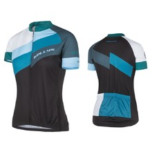 Short-Sleeved Women's Cycling Jersey Kellys Maddie - Blue