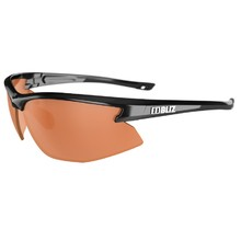 Sports Sunglasses Bliz Motion - Black with orange lenses