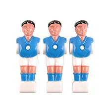 Spare Plastic Player for a Table Soccer Spartan Paili (bar diam. 13 mm) - Blue