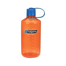 Outdoor Bottle NALGENE Narrow Mouth 1l - Orange 32 NM
