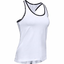 Women's Tank Top Under Armour Knockout - White