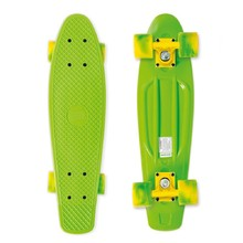 Pennyboard Street Surfing Beach Board - California Dream Green