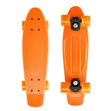 Pennyboard Street Surfing Beach Board - Gnarly Sunset Orange