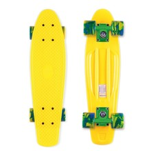 Pennyboard Street Surfing Beach Board - Summer Sun Yellow